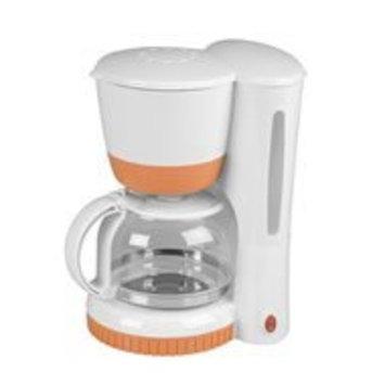 Kalorik Coordinates 8-Cup Coffee Maker, White/Tangerine