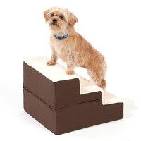 Doctors Foster & Smith Dura Ruff Indoor 3-Step Pet Stair (Brown)