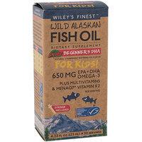 Beginner's DHA for Kids Wileys Finest 4.23 fl oz Liquid