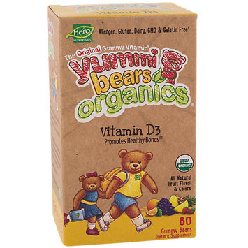 Hero Nutritionals Yummi Bears Organic Vitamin D
