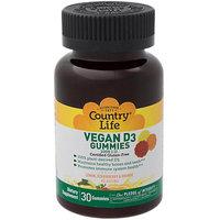Vegan D3 Gummies Country Life 30 Gummy