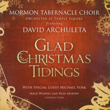 Mormon Tabernacle Choir: Glad Christmas Tidings w/David Archuleta CD