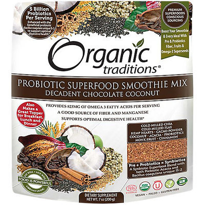 Organic Traditions Probiotic Superfood Smoothie Mix