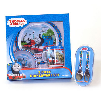 3 Stories Trading Company, Llc Thomas The Tank Engine & Friends Dinnerware Bundle