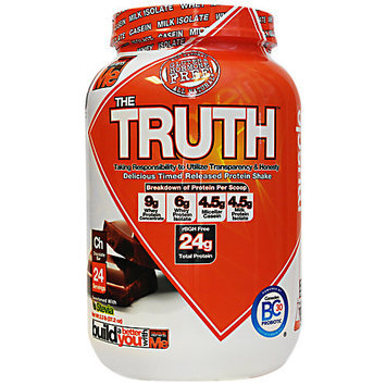 Muscle Elements The Truth, Chocolate bar, 24 Servings