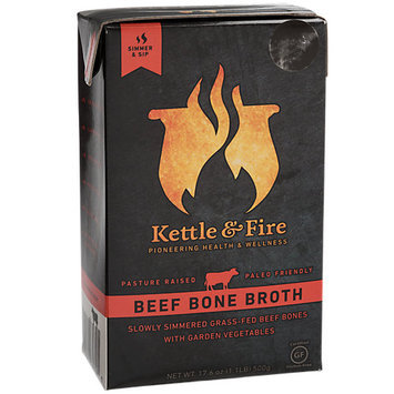 Kettle & Fire Grass Fed Beef Bone Broth 17.6 fl oz