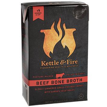 Kettle & Fire Grass Fed Beef Bone Broth 17.6 fl oz