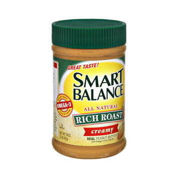 Smart Balance All Natural Rich Roast Creamy Peanut Butter