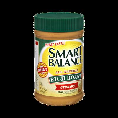 Smart Balance All Natural Rich Roast Creamy Peanut Butter