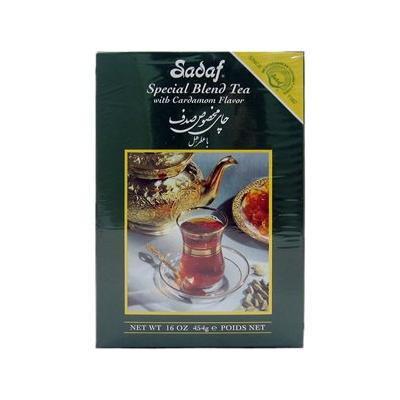 Sadaf Ceylon Tea with Cardamom Flavor 16 oz