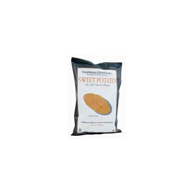 Food Should Taste Good FoodShouldTasteGood Sweet Potato Tortilla Chips, 5.5-Ounce Bags (Pack of 3)