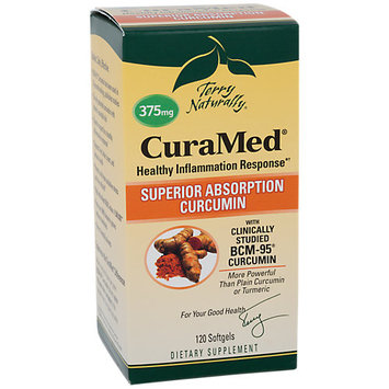 EuroPharma - Terry Naturally CuraMed with BCM-95 375 mg. - 120 Softgels