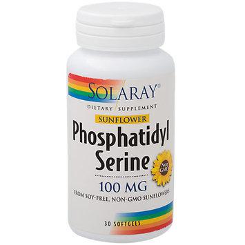 Sunflower Phosphatidylserine Solaray 30 VCaps