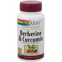 Berberine & Curcumin 600 mg Solaray 60 VCaps