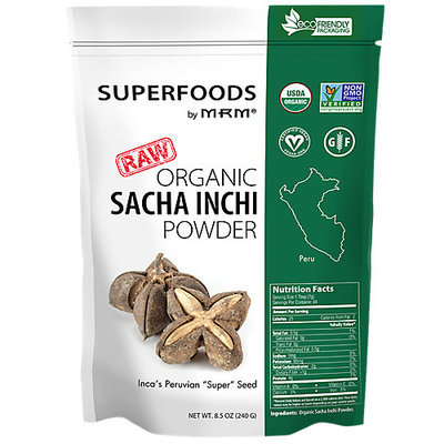 Mrm Metabolic Response Modifiers Super Foods - Raw Organic Sacha Inchi Powder MRM (Metabolic Response Modifiers)