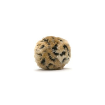 Enchantacat Tiki Ball Cat Toy (Animal Print Received May Vary) 1ea