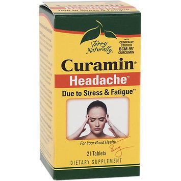 Europharma Terry Naturally Curamin Headache EuroPharma (Terry Naturally) 21 Tabs