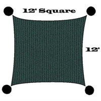 Us Shade Sail San Diego Shade Sail 12' Square - Green