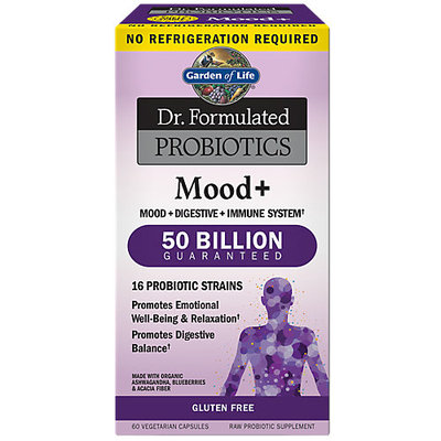 Dr. Formulated Probiotics No Refrigeration Required - Mood Garden of Life 60 Caps