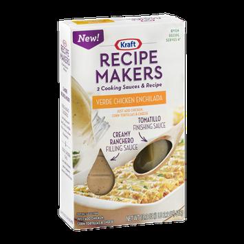 Kraft Recipe Makers Cooking Sauces Oven Recipe Verde Chicken Enchilada