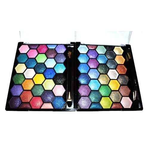 Emori TM Pearl Sparkle 64 Elegant Eyeshadow Colors Makeup Kit Palette