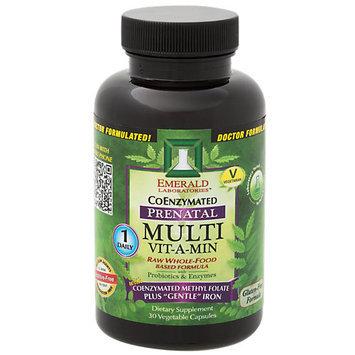 Emerald Labs - Prenatal Multi Vit-A-Min - 30 Vegetarian Capsules
