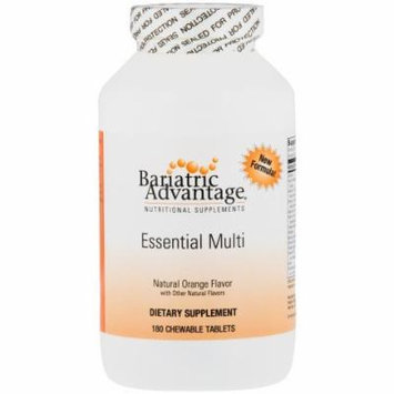 Bariatric Advantage Complete Chewable Multivitamin - 180 Count, Orange