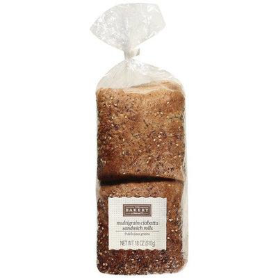 The Bakery At Walmart Multigrain Ciabatta Sandwich Rolls, 18 oz