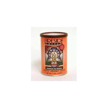 Fireside Coffee Cafe Mocha Instant Flavored Coffee 8 Ounce Canister - Pumpkin Spice