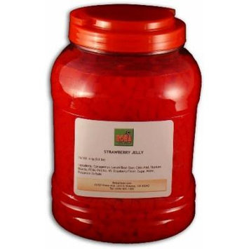 Bubble Boba Tea Strawberry Jelly, 8.8 lbs (4kg) JAR