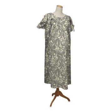 Farallon the peanut shell Hospital Gown, Whisper, Large/X-Large