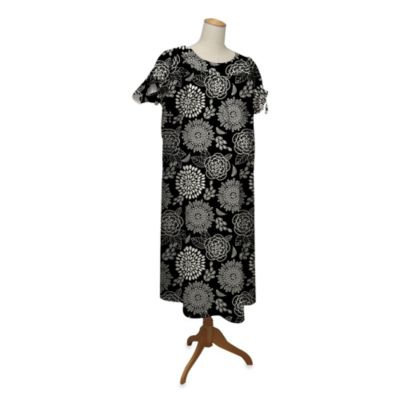 Farallon the peanut shell Hospital Gown, Tea Time, Small/Medium