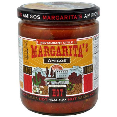 Generic Margarita's Amigos Restaurant Style Hot Salsa, 16 oz