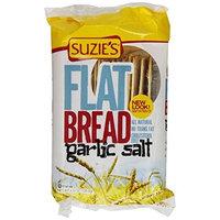 Suzies Suzie's Flatbread, Garlic Salt, 4.5-Ounce Bags (Pack of 12)