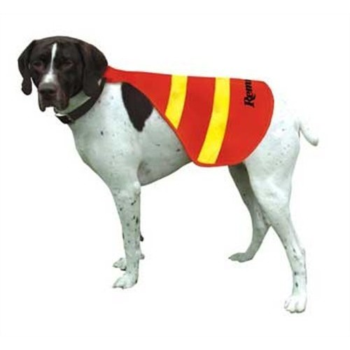 Remington Orange and Yellow Safety Vests for Dogs