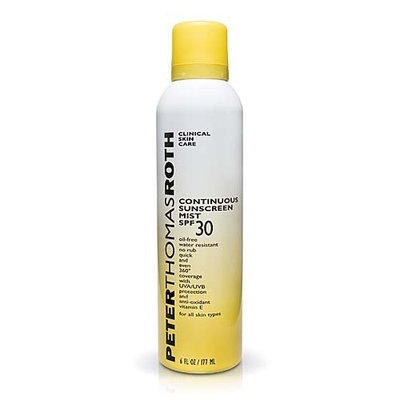 Peter Thomas Roth Continuous Sunscreen Mist SPF 30 6 fl oz.