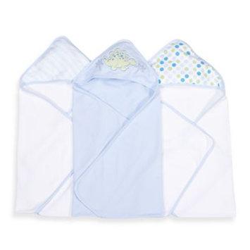 Spasilk Hooded Towel (Pack of 3) - Dino