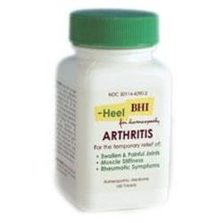 Frontier Heel Arthritis Homeopathic Medication - 100 Tablets