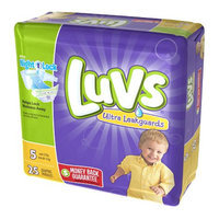 Luvs with Ultra Leakguards Size 5 Diapers