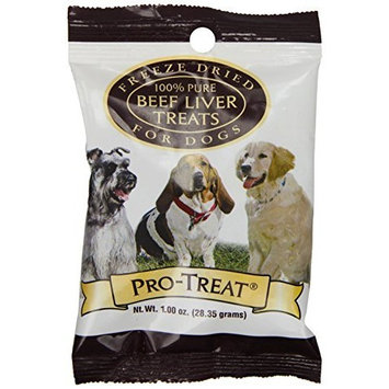 Stewart's Pro-Treat 1 Ounce Bag Freeze Dried Dog Treats, Beef Liver by MiracleCorp/Gimborn
