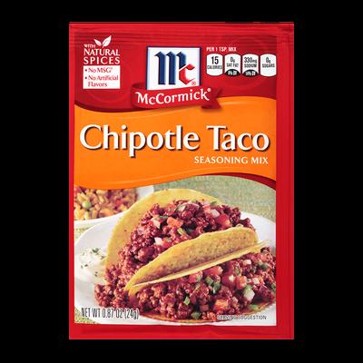 McCormick® Chipotle Taco Seasoning Mix