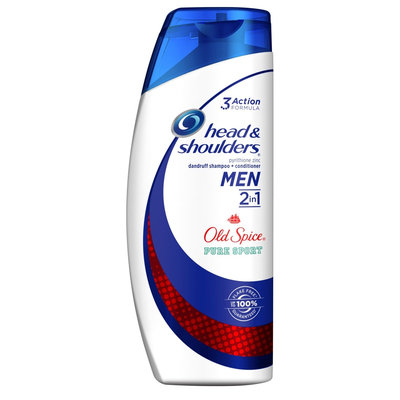 Head & Shoulders Men Old Spice Pure Sport 2 in 1 Dandruff Shampoo + Conditioner