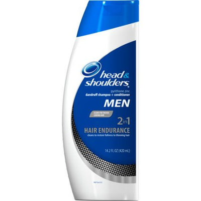 Head & Shoulders Hair Endurance for Men 2 in 1 Dandruff Shampoo + Conditioner