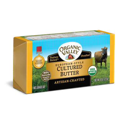 Organic Valley® European Style Cultured Butter