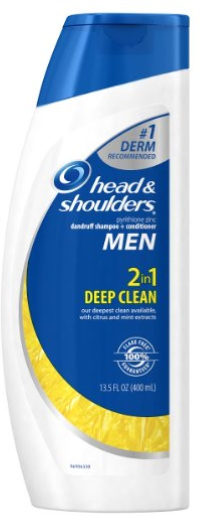 Head & Shoulders Men Deep Clean 2-in-1 Dandruff Shampoo + Conditioner