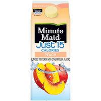 Minute Maid® Premium Just 15 Peach Flavored Fruit Drink