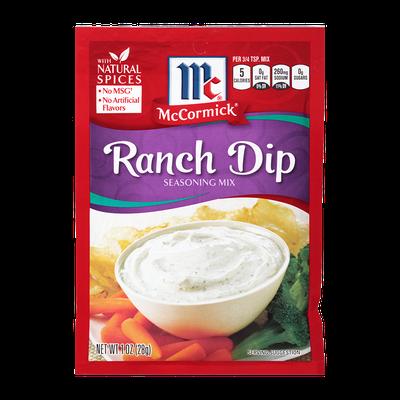 McCormick® Ranch Dip Mix