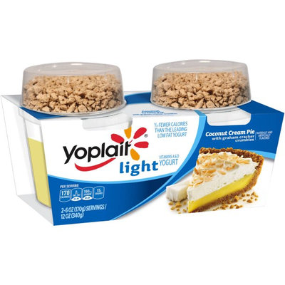 Yoplait® Coconut Cream Pie Light Yogurt with Graham Cracker Crumbles