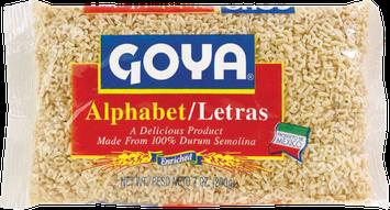 Goya® Alphabet Pasta