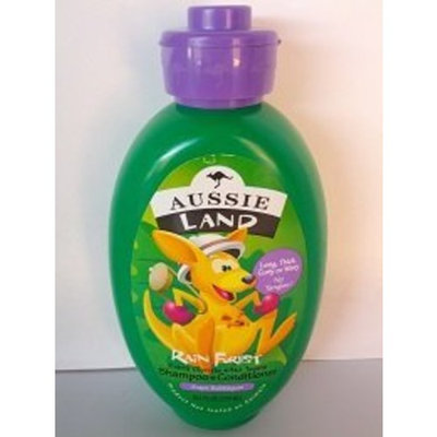 Aussie Land RainForest Shampoo + Conditioner Grape Bubblegum 10.1oz